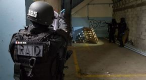 À l'entraînement avec les policiers du RAID de Lille