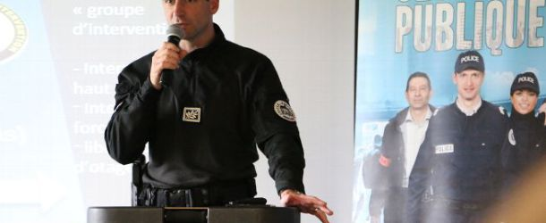 Le numéro 3 du RAID à la rencontre des policiers de Sens et d'Auxerre