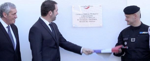 Montpellier : Christophe Castaner inaugure l'antenne du RAID