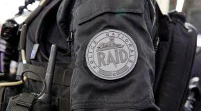 Opération de police impressionnante à Nice