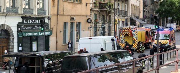Coup de couteau dans le Vieux-Lyon : fin de l'intervention du RAID, le suspect interpellé