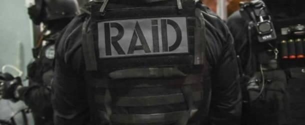 GARD Interpellations et perquisitions ce matin : le RAID, la BRI et la police judiciaire en opération