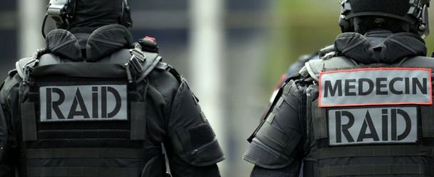 Six trafiquants de drogue interpellés avec l'aide du RAID