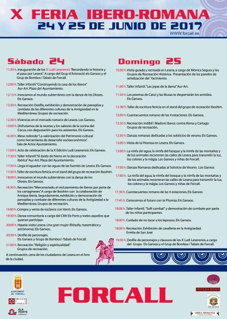 X_Feria_Iberoromana_cartell_programacio_castella