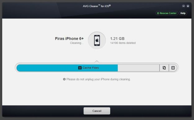 Clean your iPhone for more memory space
