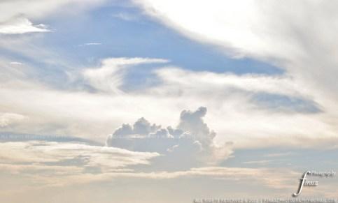 Cloud pointing faraway