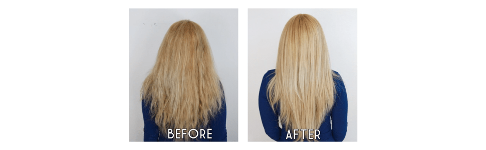 Briogeo Don't Depair, Repair! Deep Conditioning Mask—before and after photos