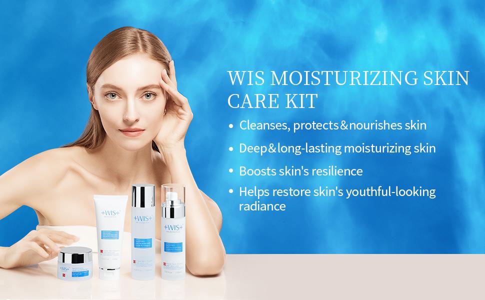 moisturizing skin care set
