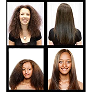 Moroccan Keratin before after results