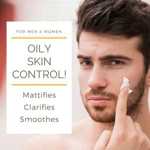 moisturizer hydrates oil-free cystic acne blemish oily skin glycolic matte primer clear vitamin C