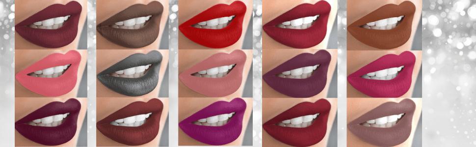 Mynena makeup mattiful matte liquid lipstick