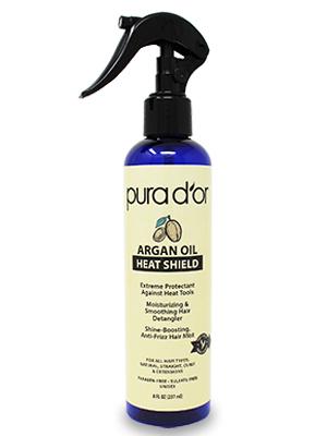argan oil heat protectant argan oil heat protectant oil thermal hair protector spray organic natural