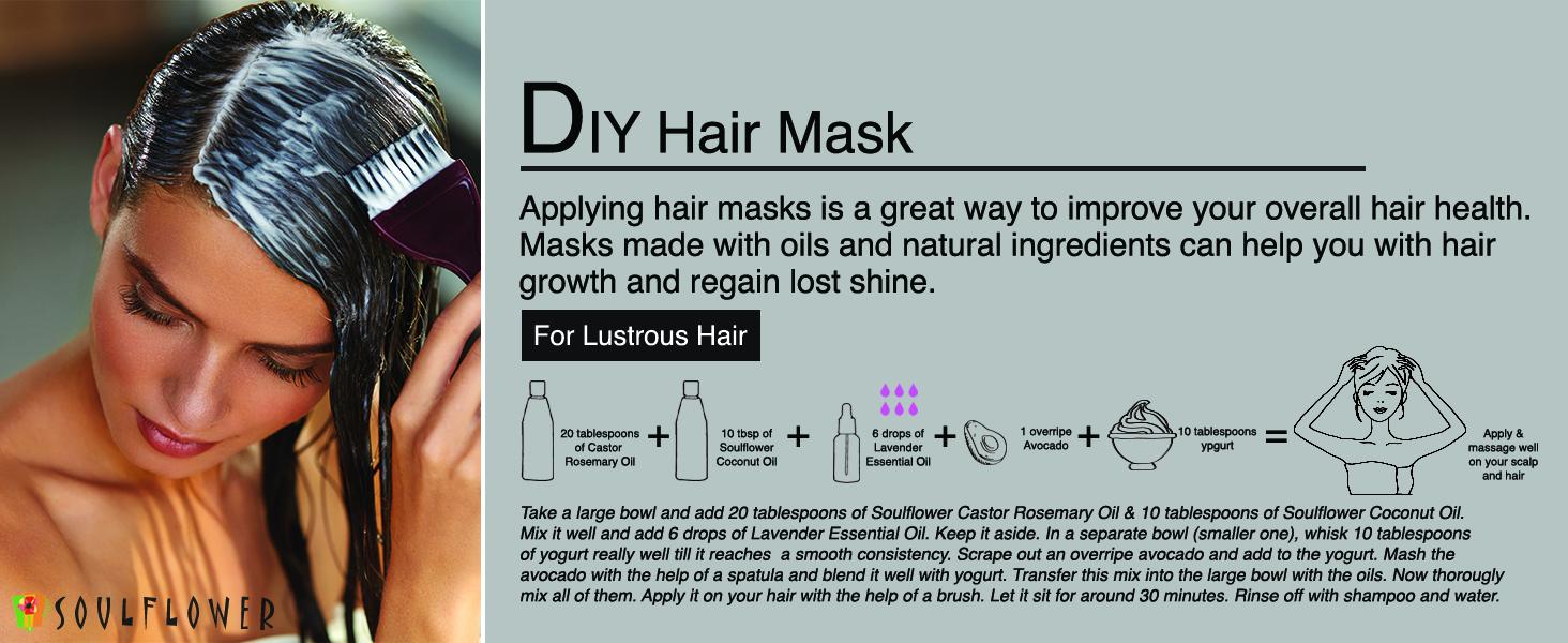 soulflower castor rosemary hair nourishment oil