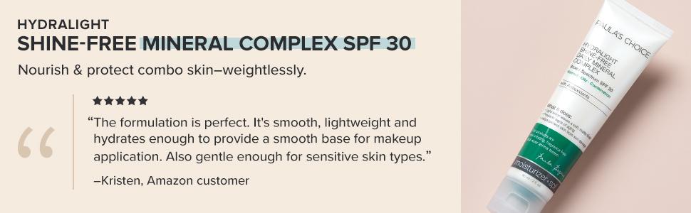 hydralight spf 30