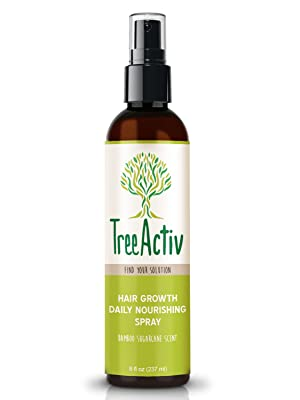 TreeActiv Hair Growth Daily Nourishing Spray Bamboo Sugarcane