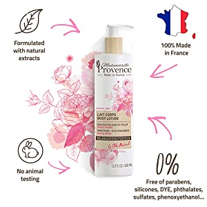 luxury roses moisturizers peony scnted creams beauty gifts france creme corps french skincare vegan