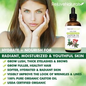 Castor oil for hair growth, Castor oil for eyelashes, eyelash growth serum
