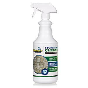 sheiners stone and tile cleaner for kitchen and bathroom tile and stone and patio cleaning