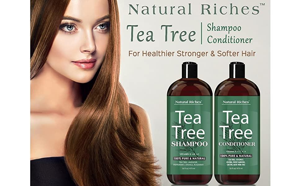 Tea tree shampoo 50%