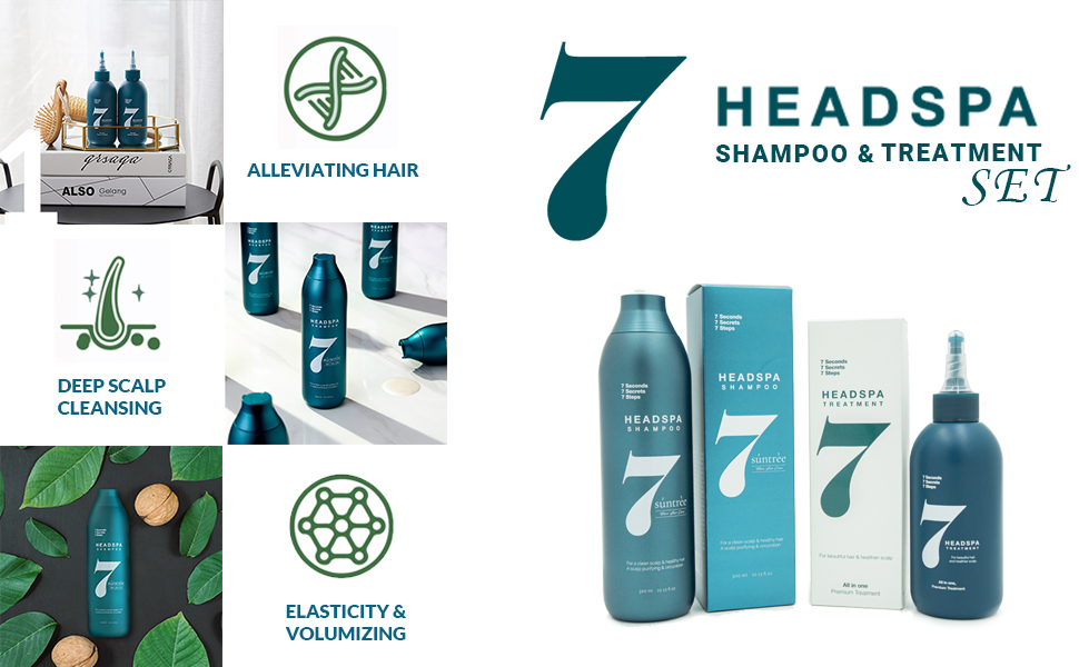 Suntree Shampoo Chamaecyparis Obtusa  Water extracts and scent of cypress essential oil herb.
