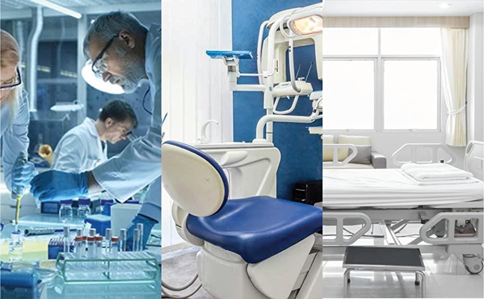 lab, dentist, hospital