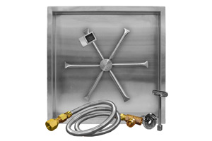 stainless-steel-square-drkop-in-pan-burning-spur-thermocouple-manual-safety-kit-tms-listed-burning-spur-burner-bottom-view-fireboulder-fire-boulder-burning-spur-20in-26in-32in-38in