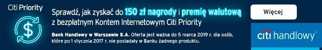 Baner Citi Handlowy - Citi Priority