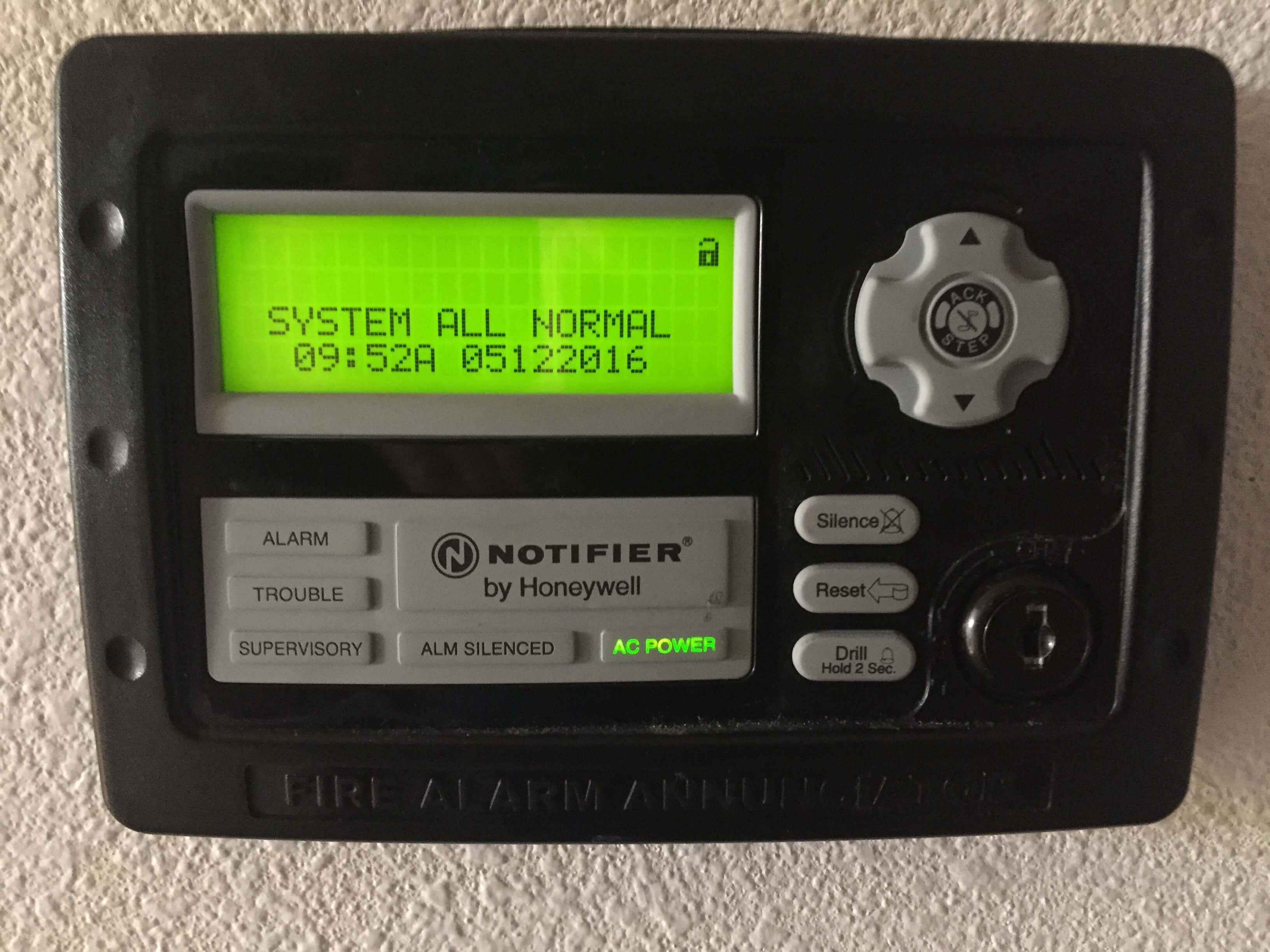 Systems Alarm T