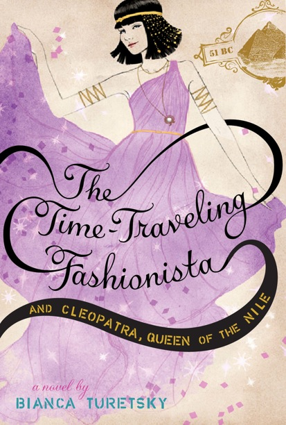 The Time-Traveling Fashionista and Cleopatra, Queen of the Nile Blog Tour