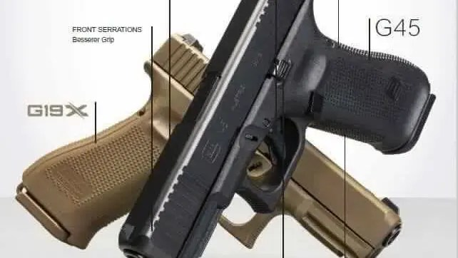 A Black 19X? The Glock 45 & Glock 17 MOS Gen5 Leaked