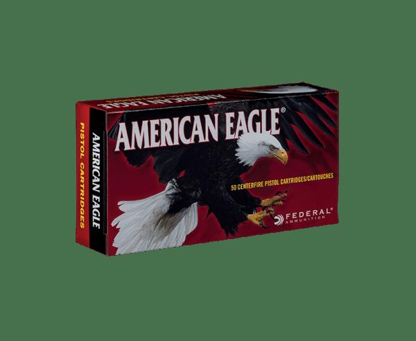 Federal American Eagle 9mm Luger 115gr. FMJ 50rds.