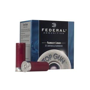 Federal Top Gun Target Load 12GA 2.75-inch 1oz #8 Shot 25Rds