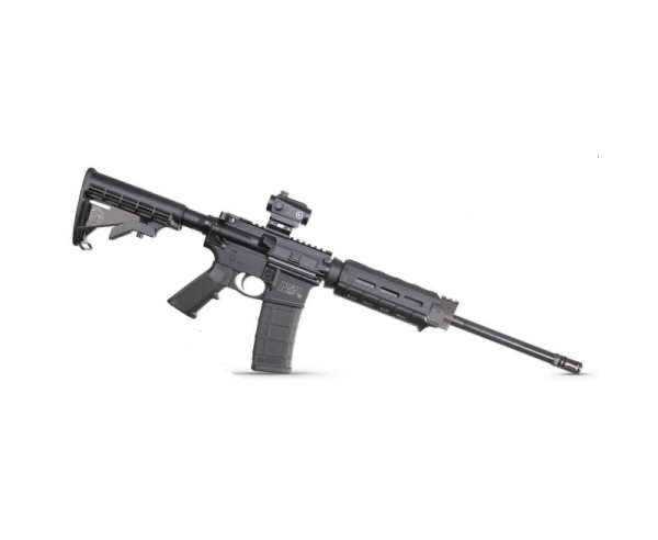 Smith and Wesson M&P 15 Sport II OR Magpul MOE M-LOK Crimson Trace Red/Green Dot Sight 5.56/.223 Rem 16-inch 30Rds