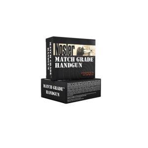 Nosler Match Grade Brass 9mm 115-Grain 20-Rounds JHP