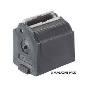 Ruger 10/22 Magazine BX-1 .22 LR Black 10Rd 3 Pack