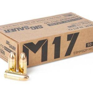 Sig Sauer M17 9MM 124 Grain FMJ Elite 50-Round