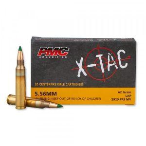 PMC Ammunition X-Tac M855 5.56 NATO 62GR Green Tip LAP 20Rds