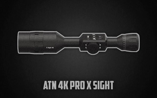 ATN 4K Pro X Sight