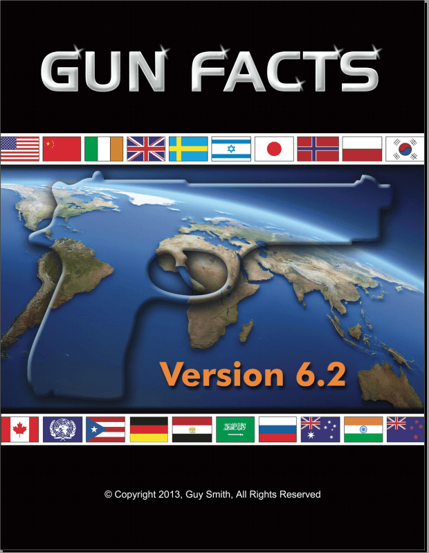 Front cover for Gun Facts version 6.2