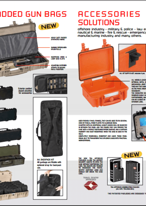 Explorer Tough Cases Brochure