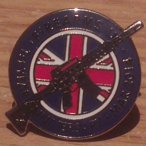 Lapel Pin Close up