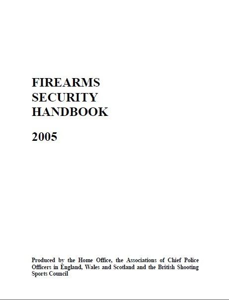 Firearms Security Handbook 2005