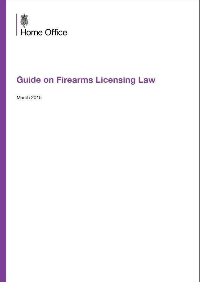 Guide on Firearms Licensing Law - March 2015
