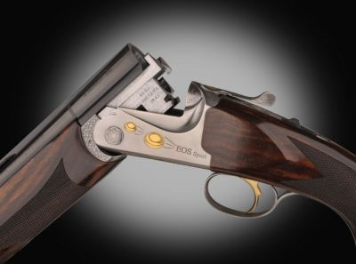 Close up of RA EOS Sport shotgun action