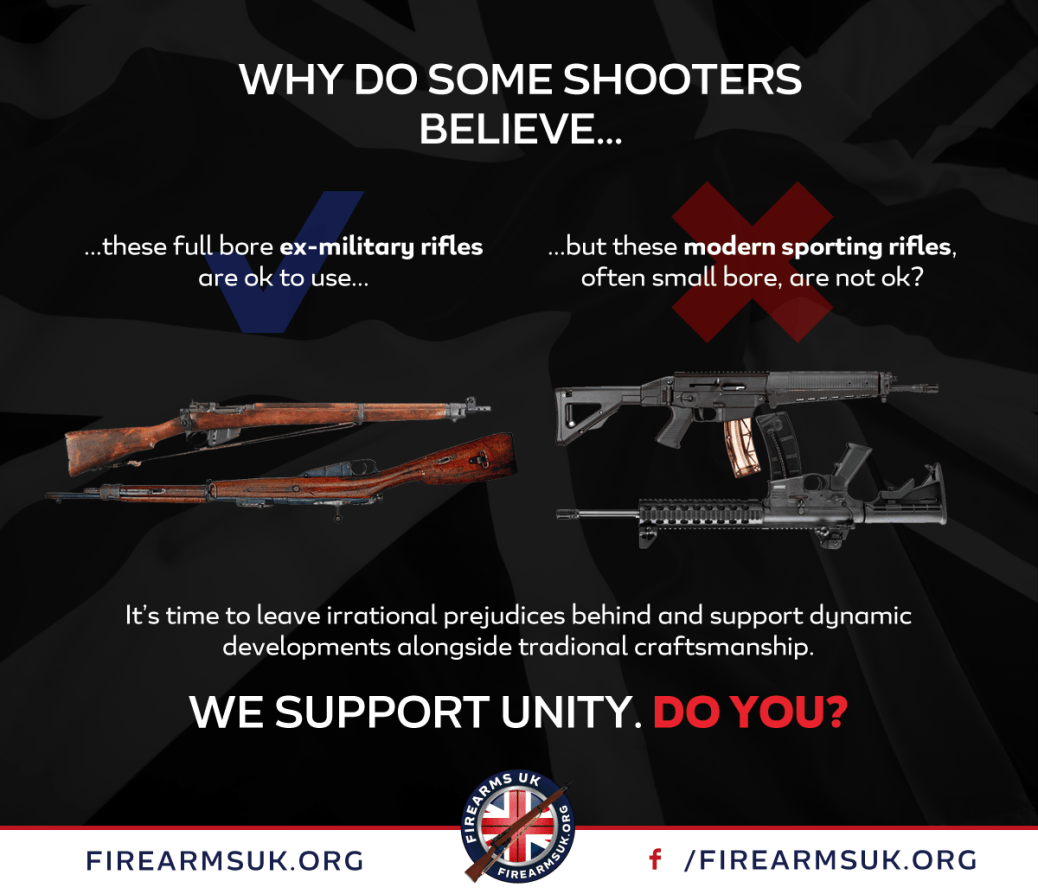 Firearms UK - Unity - Old vs New