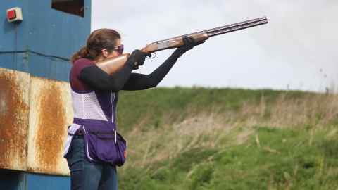 Faye Wills on Clay Shooting