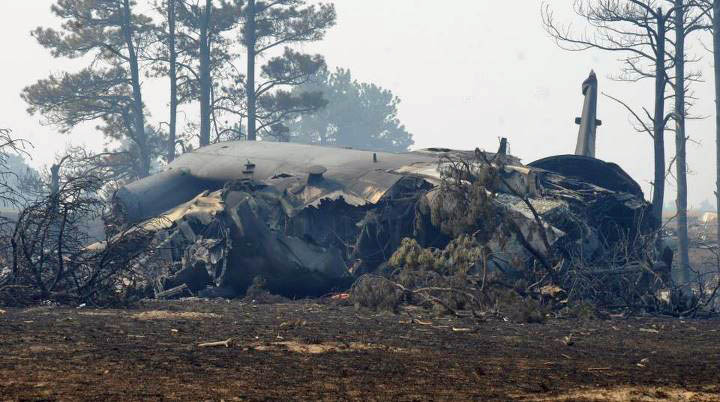 MAFFS C-130 crash, US Air Force photo