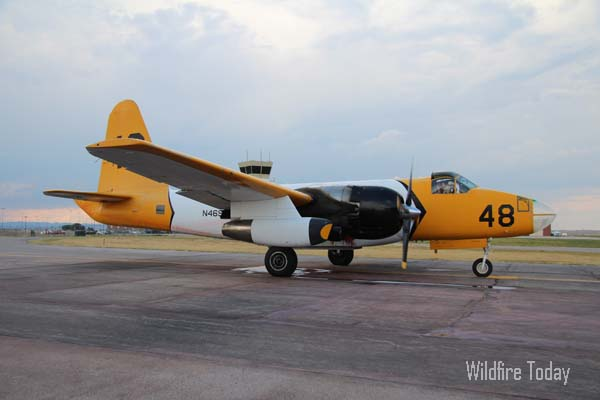 Tanker 48 at Rapid City Air Tanker Base, July 21