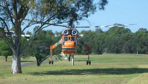 Photos: aerial firefighting in New South Wales