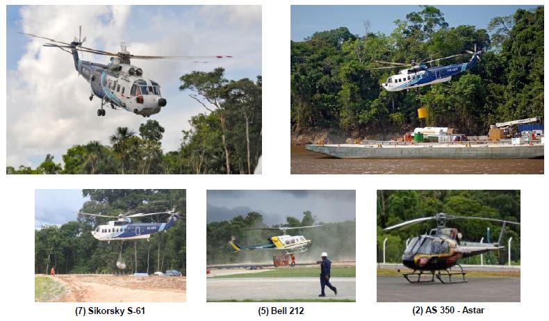 Amazonia helicopters